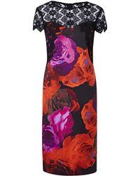 Simply Be - Joanna Hope Print Dress - Lyst