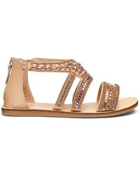 Simply Be - Gemma Jewel Sandals Wide Fit - Lyst