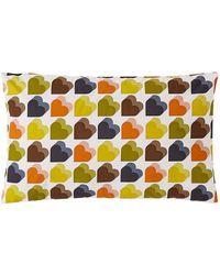 Orla Kiely Love Hearts Pillowcases - Multicolour