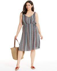 659ec3ce Stripe Midi Dress - Multicolour