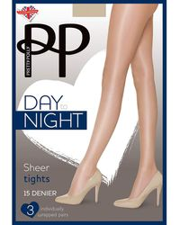 Pretty Polly 3 Pack Day To Night Tights - Black