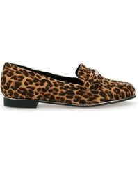 Simply Be Sinead Chain Loafer Extra Wide Fit - Brown