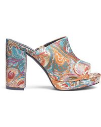 Simply Be - Carrie Platform Mules - Lyst