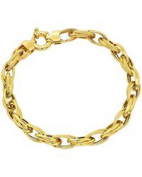 Simply Be - 9 Carat Gold Chunky Ladies Bracelet - Lyst