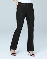 Simply Be Petite Bootcut Pull-on Jeggings - Black