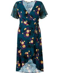 Simply Be - Oasis Curve Freida Wrap Dress - Lyst