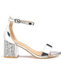 Simply Be - Anji Block Heels - Lyst
