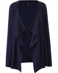 Simply Be - Waterfall Cardigan - Lyst