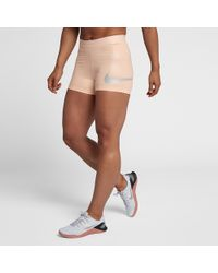 "Nike - Pro 3"" Compression Shorts - Lyst"