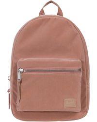 9ce3d9ac840 Lyst - Herschel Supply Co. Herschel Grove Pink Velvet Backpack in Pink