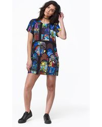 MINKPINK - Stained Glass Tee Dress - Lyst