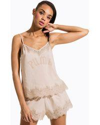 a004441e4ab8 PUMA - Fenty Lace Trim Sleepwear Cami - Lyst