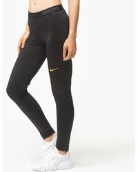 Nike - Pro Cool Metallic Dot Tights - Lyst
