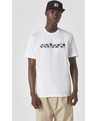 Carhartt Range Script T-Shirt - Bianco