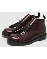 Fred Perry X George Cox Leather Monkey Boot - Multicolore