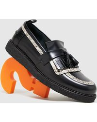 Fred Perry George Cox Tassle Loafer - Nero
