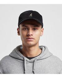 Kangol Cord Baseball Cap - Black