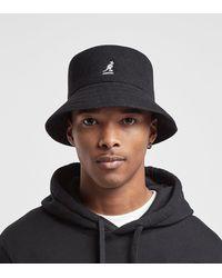 Kangol Wool Bucket Hat - Negro