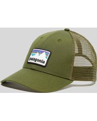 Patagonia - Shop Sticker Patch Lopro Trucker Cap - Lyst