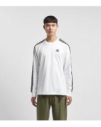 adidas Originals 3-Stripes T-Shirt - Weiß