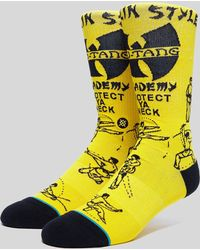 Stance - Wu Tang Clan 'protect Ya Neck' Sock - Lyst