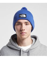 The North Face Tnf Box Pom Beanie Hat - Blue