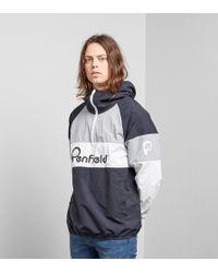 Penfield Block Overhead Jacket - Negro
