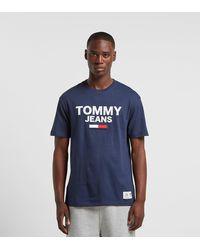Tommy Hilfiger T-Shirt - Bleu