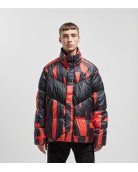 Nike Print Down Jacket - Red