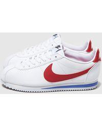 Nike Classic Cortez Leather - Bianco