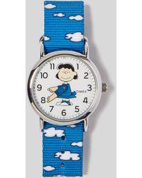 Timex - Weekender X Peanuts Lucy Watch - Lyst
