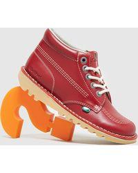 Kickers Kick Hi - Rojo