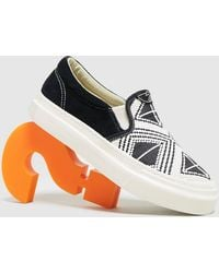 Stepney Workers Club Lister Almasi Woven Slip On - Multicolore