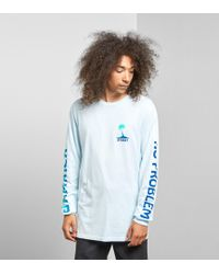 Stussy - Jamaica Long Sleeved T-shirt - Lyst
