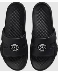 Nike X PSG Hydro 8 Slide - Negro