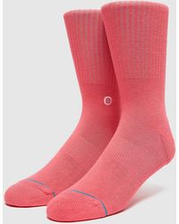 Stance Chaussette Icon - Rose