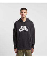 Nike Fleece Sb Icon in Black,White (Black) for Men Lyst
