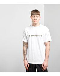 Carhartt WIP - Script T-shirt - Lyst