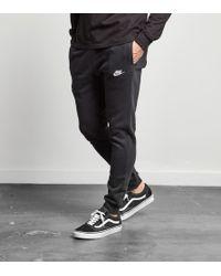 Nike Foundation Cuffed Fleece Sweatpants - Black