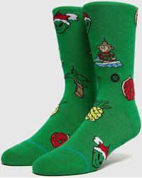Stance Xmas Ornaments Socks - Verde