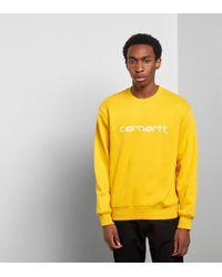 Carhartt WIP - Script Sweatshirt - Size? Exclusive - Lyst