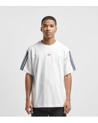 cheap for discount 55c20 fa1ee adidas Originals - Floating T-shirt - Lyst