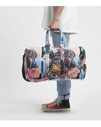 Herschel Supply Co. X Jean-michel Basquiat Novel Duffle Bag - Blue