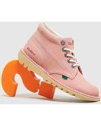 Kickers Kick Hi Women's - Pink