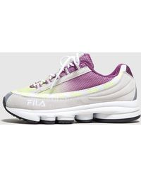 Fila Dragster 97 - size? Exclusive - Blanco