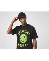 Chinatown Market Smiley T-Shirt - Negro