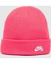 Nike Fisherman Beanie - Pink
