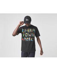 Chinatown Market City Aerobics T-Shirt - Negro