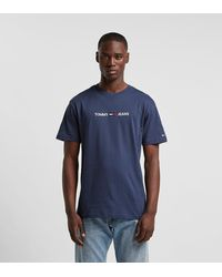 Tommy Hilfiger Camiseta Small Logo - Azul