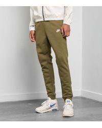 30f9999625522f Lyst - Nike Tech Fleece Jogger in Green for Men